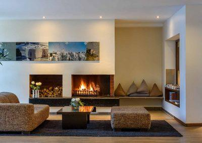 Mercure Hotel Aachen Europaplatz Lobby Lounge mit offenem Kamin