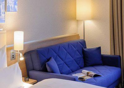 Mercure Hotel Aachen Europaplatz Standardzimmer mit Ausziehcouch (5)