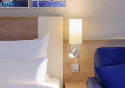 Mercure Hotel Aachen Europaplatz Standardzimmer mit Ausziehcouch (7)